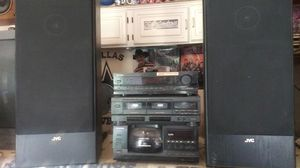 Stereo system poineer. With speakers for Sale in Austin, TX