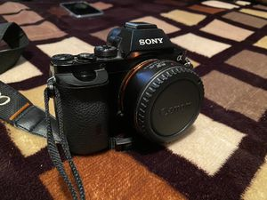 Sony A7 24mp with lens and adapter for Sale in Paramount, CA