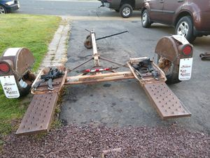 Tow dolly excellent condition for Sale in Matawan, NJ