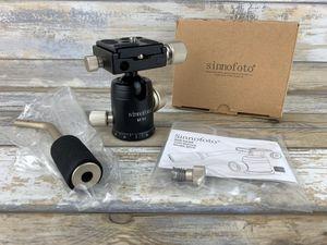 Sinnofoto M1H Aluminium Camera Tripod Ball Head 360 Degree for Sale in Bakersfield, CA