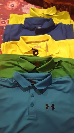 Under Armour Y/XL polo shirts for Sale in Harrisonburg, VA