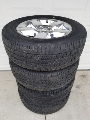 """20"""" Dodge Ram Wheels & Goodyear Tires for Sale in IND HEAD PARK, IL"""