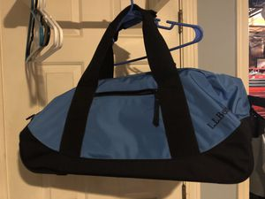 LL Bean light blue rolling duffel bag for Sale in Windham, NH