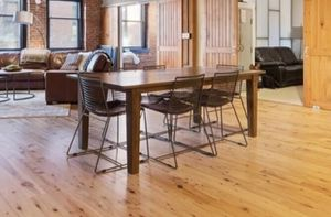"""Crate and Barrel """"Basque"""" 82 in. Dining Table for Sale in Boston, MA"""