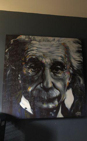 Albert Einstein poster for Sale in Monroe, WA