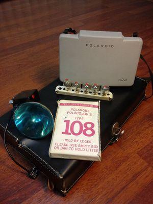 Polaroid Land Camera 103 circa@1965 COMPLETE SET for Sale in Montclair, CA