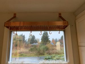 Copper pot and pan rack for Sale in Tacoma, WA