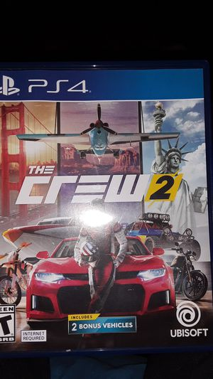 Ps4 Game (The Crew 2) for Sale in Hayward, CA