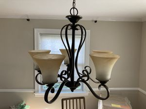 Pendant chandelier and 2 wall sconces for Sale in Barrington, RI