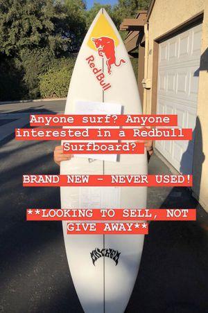 Lost driver surfboard redbull 5'9 for Sale in Orange, CA