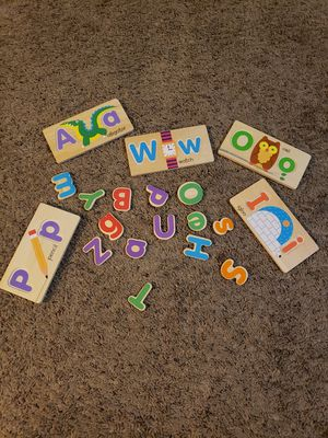 Melissa and Doug ABC picture boards for Sale in Farmers Branch, TX