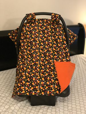 Candy corn car seat canopy for Sale in Temple City, CA