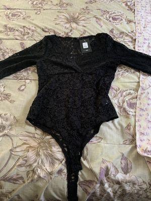 Black lace body suit ( Fashion Nova) for Sale in Jefferson, MD