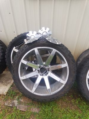KMC wheels and Haida tires. for Sale in Marksville, LA