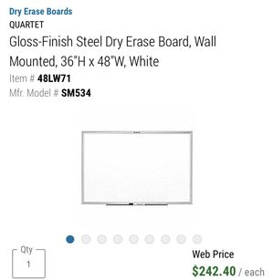 "Dry erase board 36""H x 48""W for Sale in Ocala, FL"