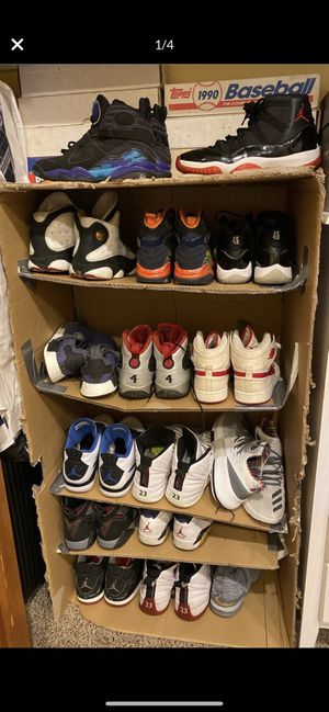 Jordan, Nike, Adidas, Yeezy, Retro, etc. All must go for Sale in Kennewick, WA