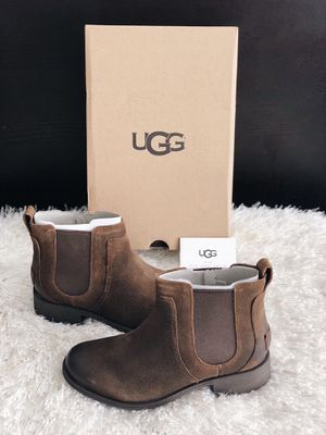 ✨New UGG Australia Bonham II Waterproof Chelsea Boots Brown Women's Shoes Size 8.5M for Sale in Spring, TX