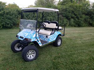 Street legal ready Ezgo golf cart for Sale in Marion, OH