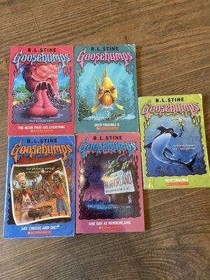 Lot of 5 goosebumps books for Sale in Winston-Salem, NC