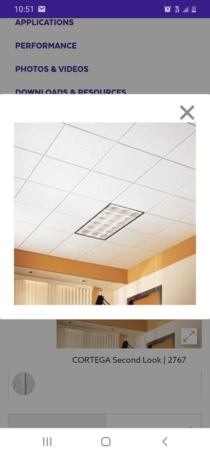 Armstrong ceiling tile for Sale in Fort Worth, TX