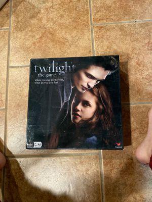 Twilight Board Game for Sale in Livonia, MI