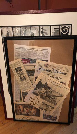 Basic black frame for Sale in Savannah, GA