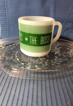 Federal vintage milk glass mug for Sale in Texas City, TX