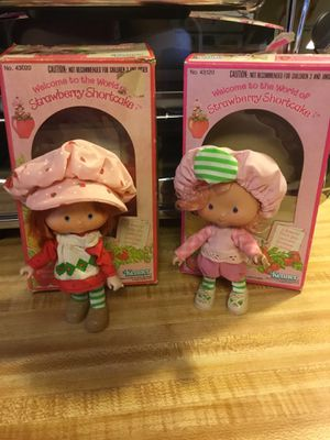 Vintage Strawberry Shortcake and Raspberry Tart with original box and comb for Sale in Greensboro, NC