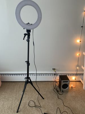 Studio ring light for Sale in Harwood Heights, IL