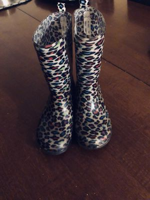 Girls Rubber Boots Size 12/13 for Sale in Parkersburg, WV