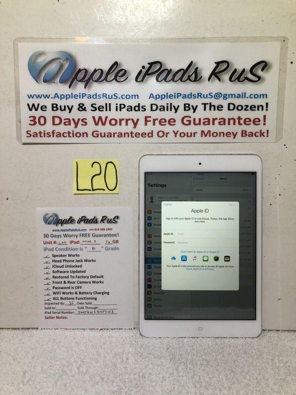 L20 - iPad mini 2 16GB