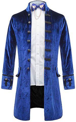 Victorian steampunk jacket -Blue for Sale in Tamarac, FL