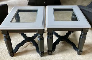 Pair of End Tables for Sale in Plainfield, IL