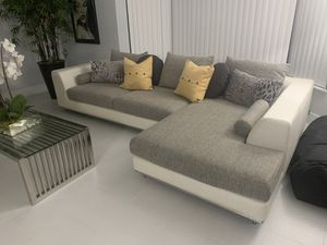 Sectional sofa with chase and side chair for Sale in Pompano Beach, FL