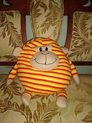 Mushable Pot Bellies Plush Stuffed Animal Striped Monkey Toy for Sale in Arlington, WA