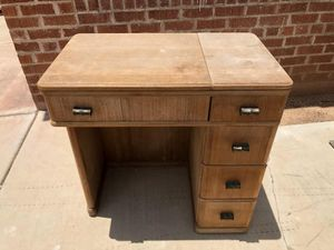 Antique sewing desk for Sale in Tucson, AZ