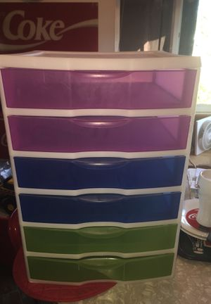 "13""x21"" 6 drawer organizer. Good condition drawers open with ease. for Sale in Fresno, CA"