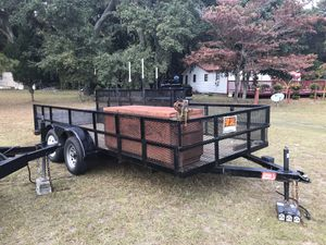 2003 16 ft utility trailer for Sale in Beaufort, SC