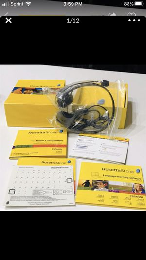 Rosetta StoneEspanol Level 1 SPANISH Complete Set for Sale in Scottsdale, AZ