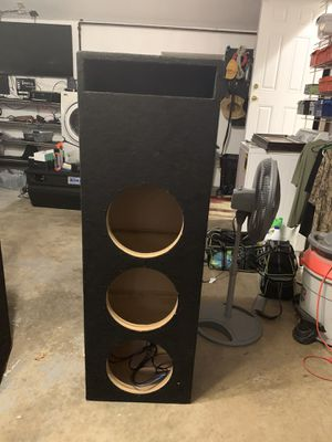 PORTED ENCLOSURE FOR 3 12'S for Sale in Norfolk, VA
