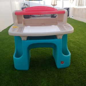 Step 2 Desk With Light and Stool for Sale in Chula Vista, CA