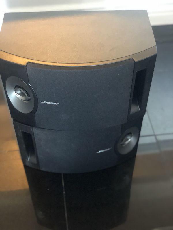 Amazing Bose 201 v Speakers