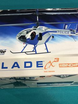 Eflite Rc Helicopter With 2 Batteries And Control for Sale in North Riverside,  IL