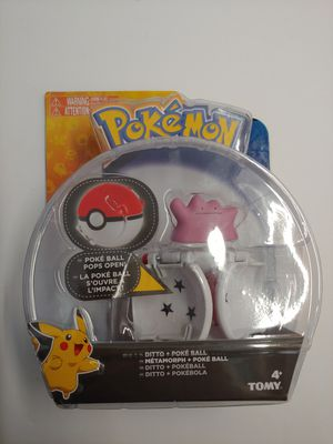 POKEMON DITTO POKE BALL POPS OPEN BRAND NEW IN SEALED PACKAGE.  2017 RARE! for Sale in Fountain Valley, CA