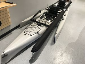 2020 Hobie Tandem Island pedal Sailing Kayak with kickup fins for Sale in Richmond, CA