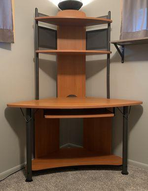 Corner tower desk for Sale in Berea, OH