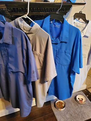 Under armor fishing shirts for Sale in San Antonio, TX