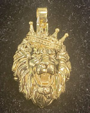 14kt Lions head pendant for Sale in Coral Gables, FL