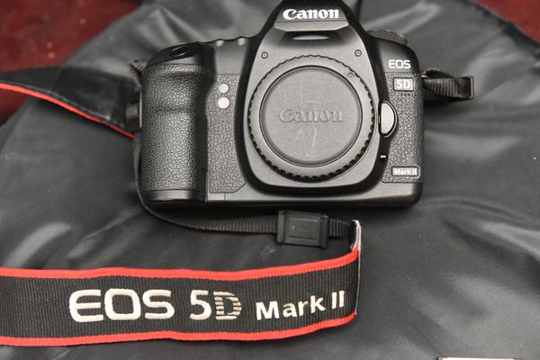 Canon 5d MarkII with extra stuff