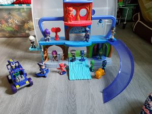 PJ Mask tower and accessories for Sale in Herculaneum, MO